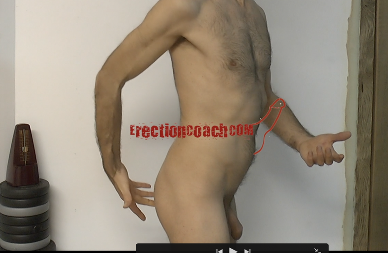 very small thumbnail video image of erection coaching video ass