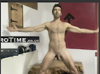 video thumbnail of naked man doing X Posetestosterone power boost