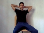 video thumbnail of of a wide limb pose for testosterone increase