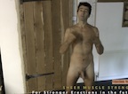 video thumbnail of of naked man passionately presenting erection kaizen