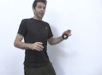 video thumbnail of personal trainer presenting video about fitness and health