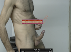 video thumbnail of naked man standing with erection pointing up demonstrating how you too can make your erections harder