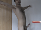 video thumbnail of naked man x pose exercise for harder erections
